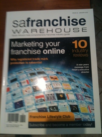 Meeting with SA Franchise magazine