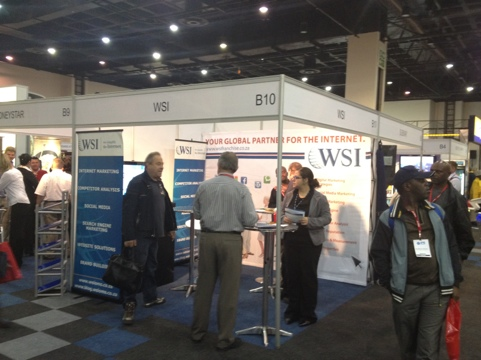 First day at WSI tradeshow
